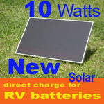 10W 10 Watt 16v Solar Panel, RV, direct Battery Charger