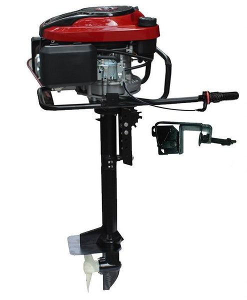 6.5HP 4 Stroke Outboard Loncin Engine Motor Honda Type Dinghy Kayak Boat