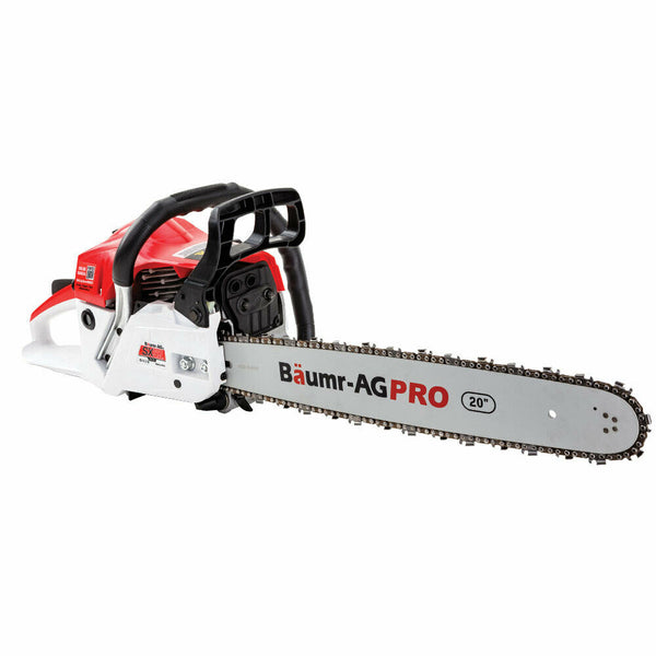 52cc Petrol Commercial Chainsaw 20 Bar E-Start Chain Saw