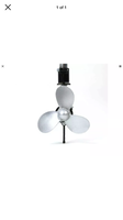 Propeller with gear box for 2 stroke or 4 stroke outdoor motor
