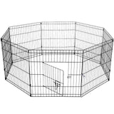 75cm 8 Panel Pet Pen Dog Puppy Rabbit Enclosure playpen