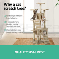 Cat Tree Trees Scratching Post Scratcher Tower Condo House Furniture Wood