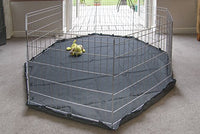 COVER MAT 8 Panel Pet Dog Playpen Pen Exercise Cage Puppy Crate Cat