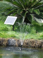 500LPH Solar Submersible pump Outdoor POND Pool Garden WATER Fountain Feature