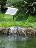 800LPH Solar Submersible pump Outdoor POND Pool Garden WATER Fountain Feature