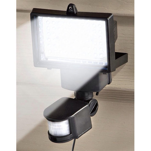 1150 Lumens SOLAR SECURITY FLOOD LIGHT SHED GARAGE MOTION SENSOR 16 Bright Leds