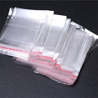 Self Adhesive Sealing Clear OPP Cellophane Resealable Plastic Bags C6 A5 A4 A3