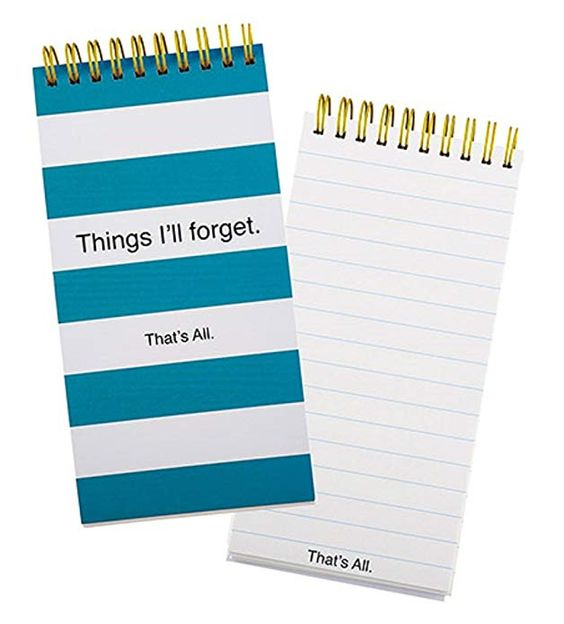 Things I'll forget list pad
