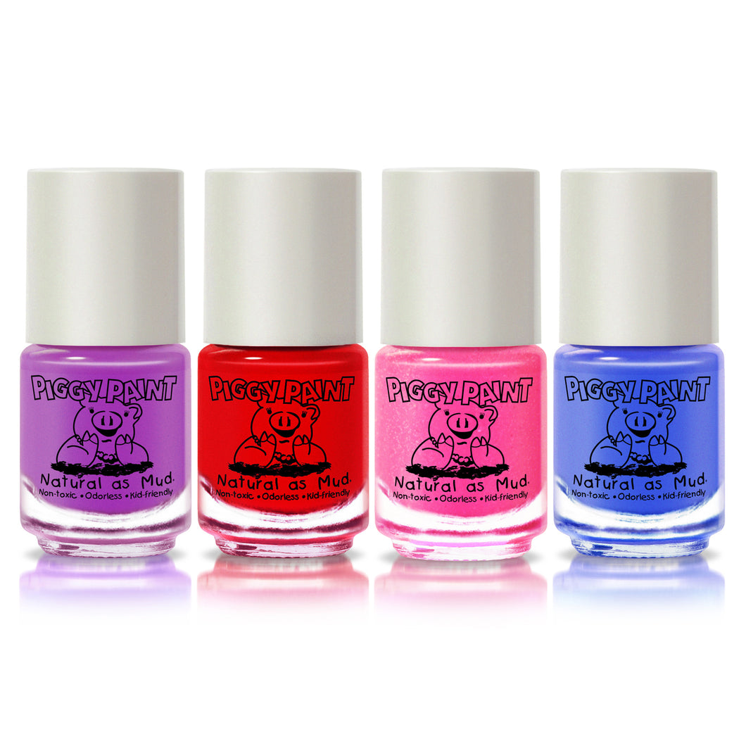 SCENTED 4 Polish Set