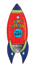 Dimensionals Birthday Blasting Rocket Shape