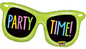 Mighty Party Time Shades Non-Foil Shape Balloon