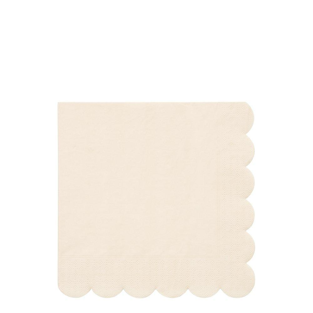 Cream Large Napkins