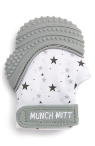 Munch Mitt- Grey Stars