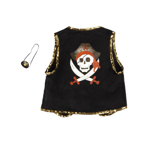 PIRATE VEST WITH EYE PATCH