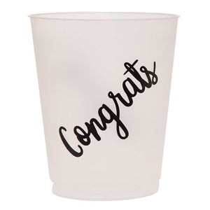 Congrats Party Cups (set of 8)