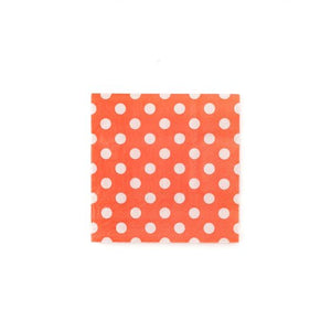 GARDEN PARTY POLKA DOT COCKTAIL NAPKIN