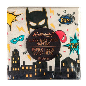 Superhero napkins