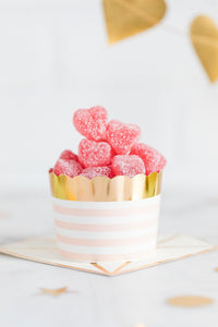 Blush and Gold Food Cups
