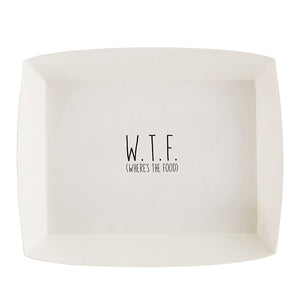 W.T.F (WHERE'S THE FOOD) PAPER DISH
