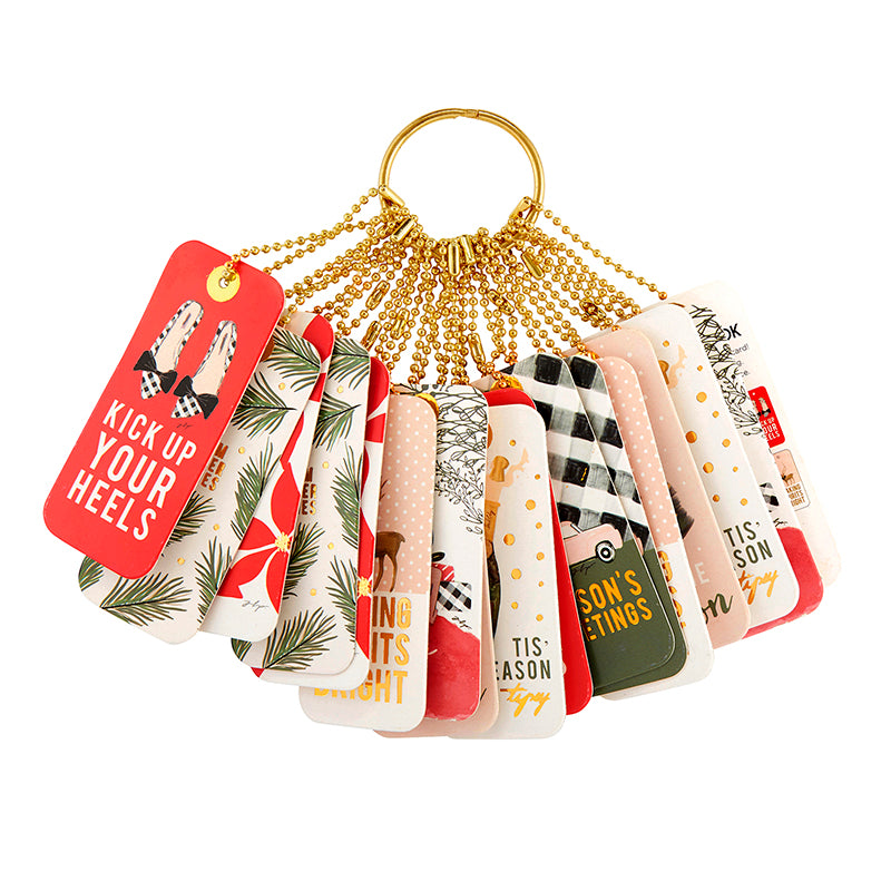 GIFT TAG BOOK - HOLIDAY