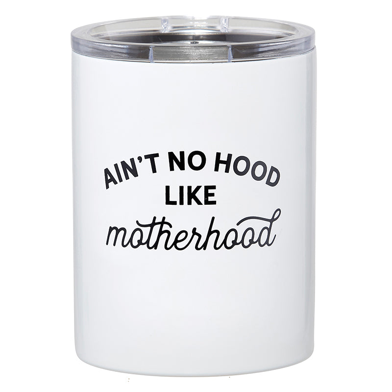 TRAVEL TUMBLER - AIN'T NO HOOD LIKE MOTHERHOOD