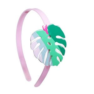 Tropical Leaf Headband