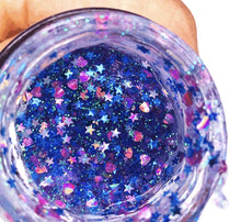 You Glow Girl! Cotton Candy Glitter Mask