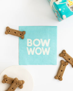 PARTY ANIMALS BOW WOW COCKTAIL NAPKINS