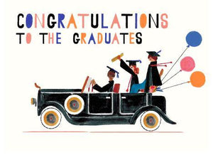 THE PACKARD - GRADUATION GREETING CARD