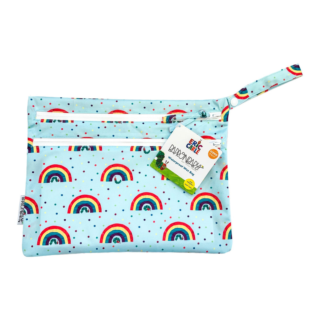 Rainbow Caterpillar - Waterproof Wet Bag (For mealtime, on-the-go, and more!) - from the World Of Eric Carle