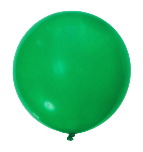 36 Inch Green Balloon
