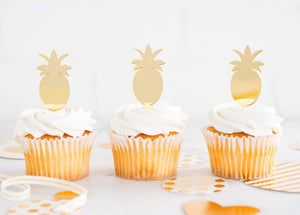 TREND PINEAPPLE CUPCAKE TOPPER