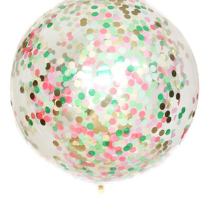 Tropical Confetti Balloon
