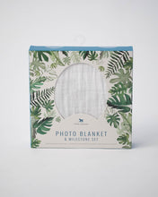PHOTO BLANKET - TROPICAL LEAF