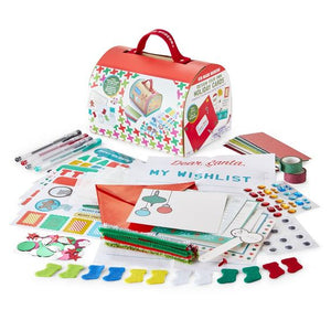 Design Your Own Holiday Cards AND Letter to Santa Craft Kit