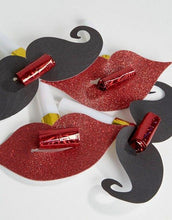 Lips & Moustaches Party Blowers