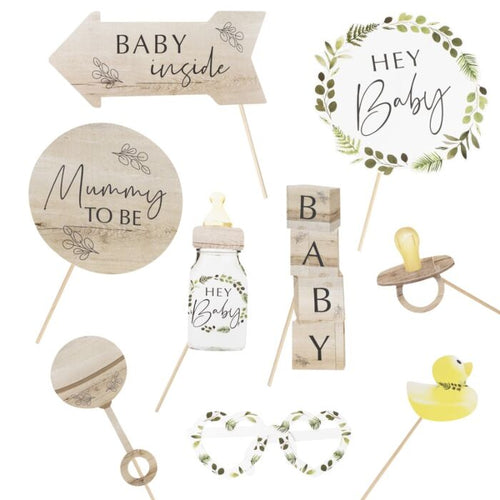 Botanical Baby Shower Photo Booth Props