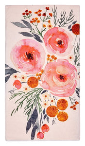 BLUSH BOUQUET PAPER NAPKINS/20PK