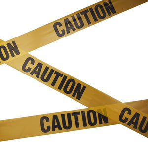 CAUTION TAPE BANNER
