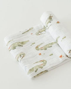 COTTON SWADDLE - GATORS