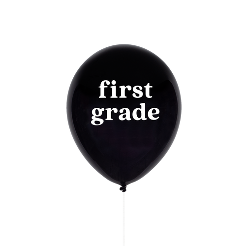 FIRST GRADE BALLOON