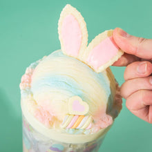 Sweets Rainbow Bunny Tumbler - Yellow