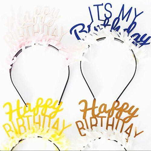 HEADBANDS: BIRTHDAY PACK OF 8