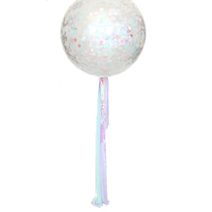 Pearly shells balloon streamer (balloon not included)
