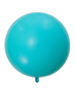 "36"" Giant Caribbean Blue Balloon"