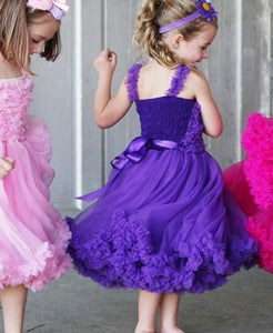Purple Princess Petti Dress