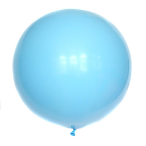 36 Inch Pale Blue Balloon