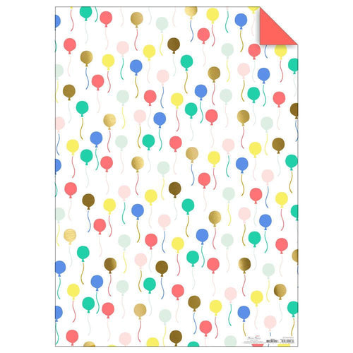 Balloon Gift Wrap Roll