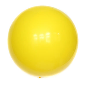 "36"" Yellow Solid Balloon"