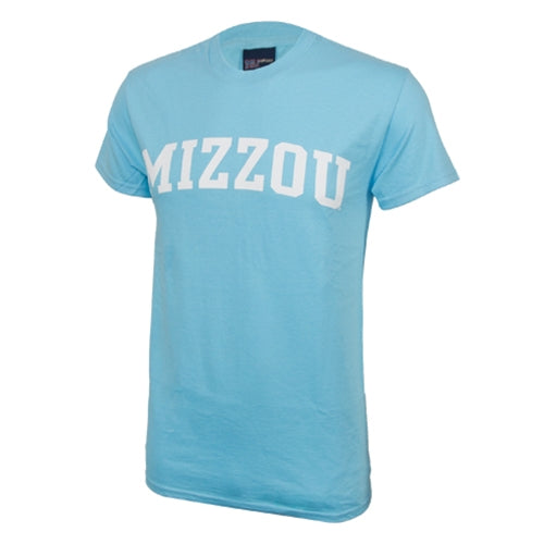 Mizzou Surf Blue Crew Neck T-Shirt